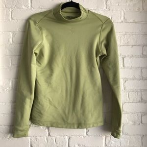 Nike FitDry long sleeve athletic top Medium Green